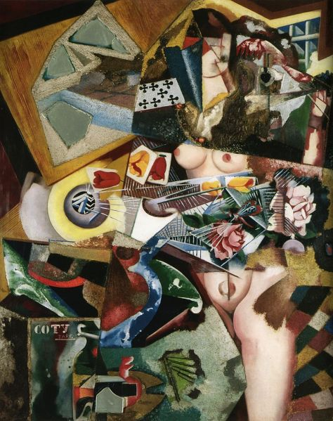 Amadeo_de_Souza-Cardoso,_Untitled_(Coty),_1917,_oil_and_collage_on_canvas,_94_x_76_cm