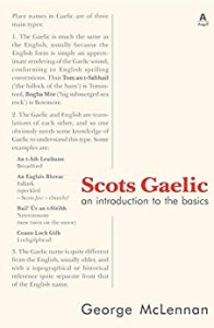 Scots Gaelic an Introduction to the Basics