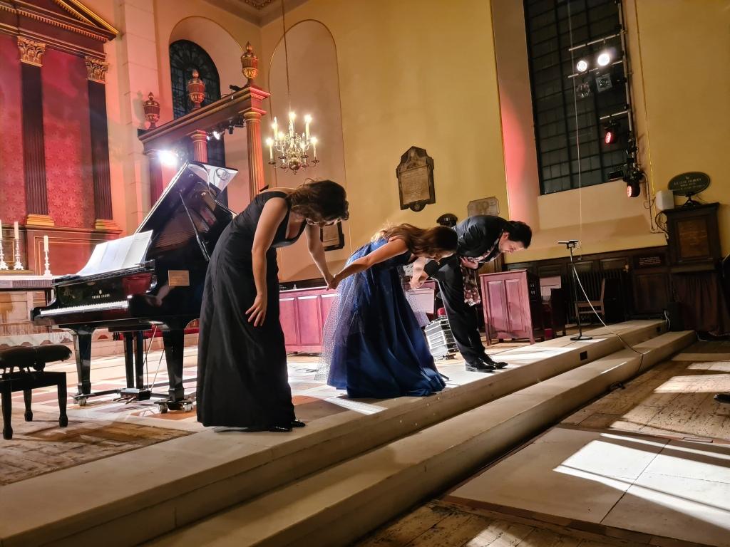 Lara Martins at St Paul's Church Covent Garden
